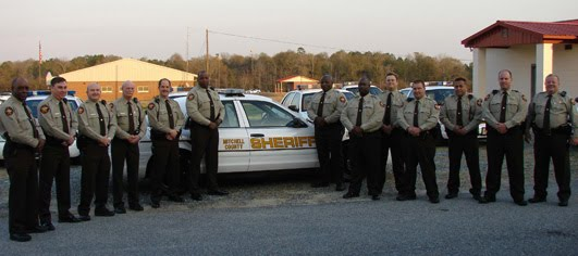 2007 Mitchell County Sheriff Deputies